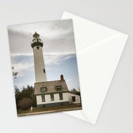 Presque Isle Lighthouse New Painterly Stationery Cards