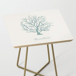 AFE Branch Coral, Misty Green Side Table
