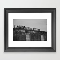 Marine And Aviation Framed Art Print