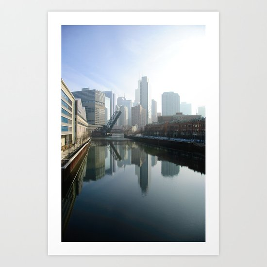 Mirror River Art Print