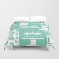 baking Duvet Covers featuring Baking Graphic by Modart Design