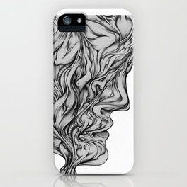 something on your mind? iPhone Case