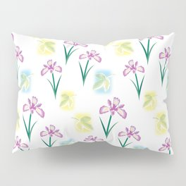 Scent of Irises Pillow Sham