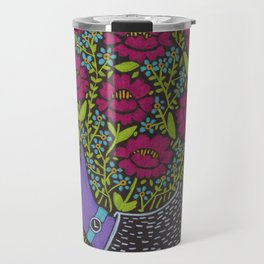 I Picked You These Flowers Travel Mug
