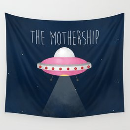 The Mothership Wall Tapestry