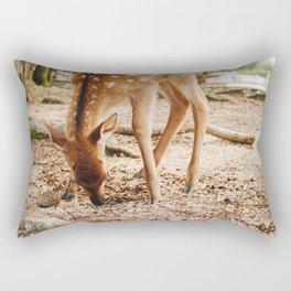 Awfully fawn'd of you! Miyajima Island, Japan Rectangular Pillow