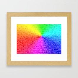 Colourful Tiles Framed Art Print