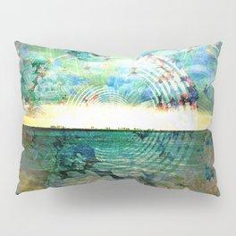 Floral Ocean Kaliedoscope Pillow Sham