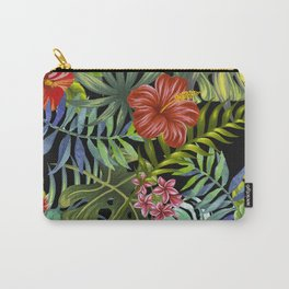Tropical Leaf Pattern 1 Carry-All Pouch
