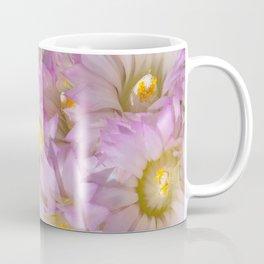 Soft Cactus Blossoms, Desert Floral Art by Murray Bolesta Coffee Mug