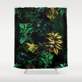 TROPICAL GARDEN VIII Shower Curtain
