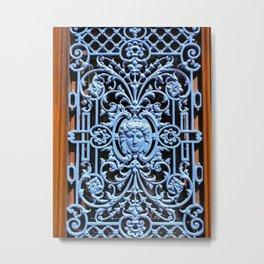 Colorful Door in Colmar France Metal Print