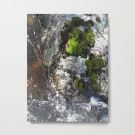 Intimate Confluence Metal Print