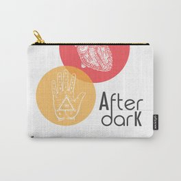 Literary Quote, After Dark by Haruki Murakami Carry-All Pouch