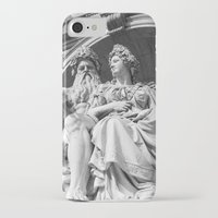 vienna iPhone & iPod Cases featuring Vienna statue by Veronika