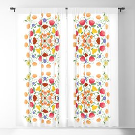 A Symphony Of Floral Delights Blackout Curtain