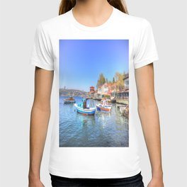 Boats on The Bosphorus Istanbul T-shirt