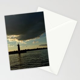 Lake Michigan in Wisconsin Stationery Cards
