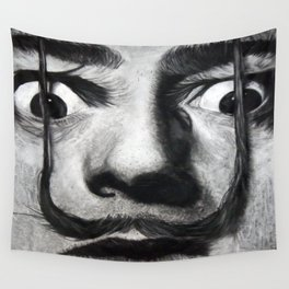 I am drugs ( Salvador Dali ) Wall Tapestry