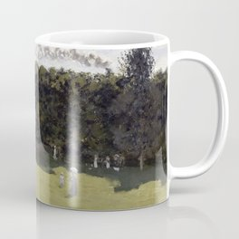 1870-Claude Monet-Train in the Countryside-50 x 65 Coffee Mug