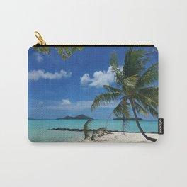 Bora Bora Palm Tree Carry-All Pouch