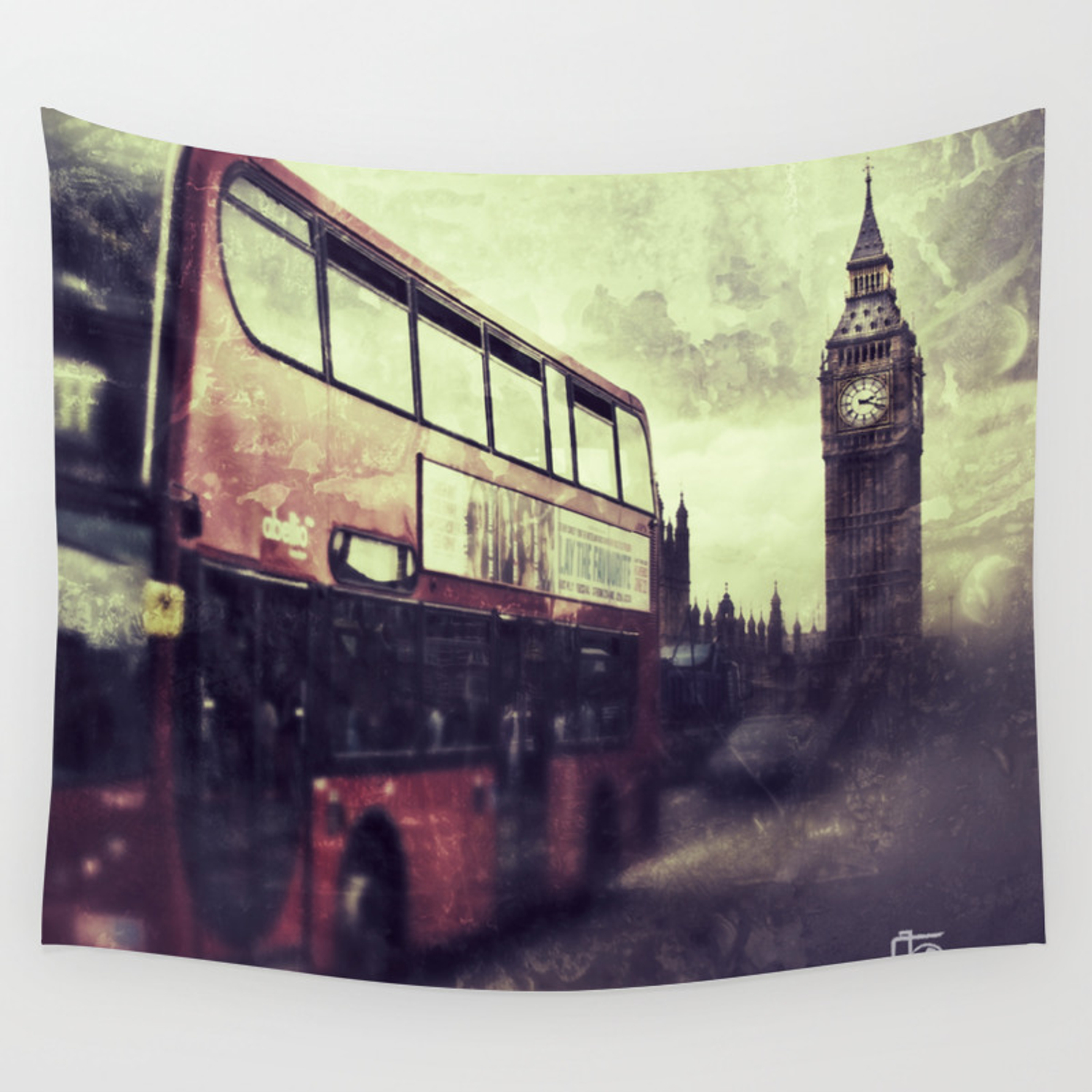 London Calling Wall Tapestry By Christinebeckstedimages Society6