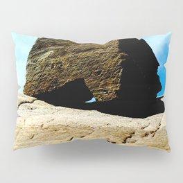 Ostra en el fondo del agua Pillow Sham