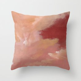 Next to the storm Throw Pillow