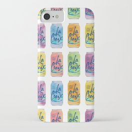 La Croix Illustration iPhone Case