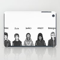 boys iPad Cases featuring Dystopian Boys by Plebnut