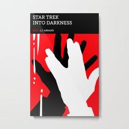 Star Trek: Into Darkness Metal Print