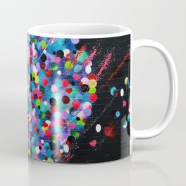 Hearts Murales Coffee Mug