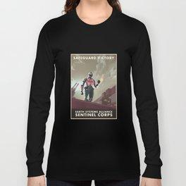 Mass Effect 3- Sentinel Propaganda Long Sleeve T-shirt