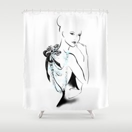 Valentina Shower Curtain