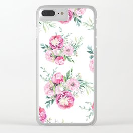 hurry spring Clear iPhone Case