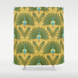 Peacocks&Feathers Shower Curtain