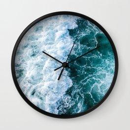 The Ocean Has My Heart Wall Clock
