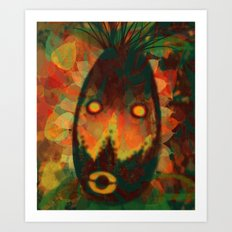 Spirit Mask Art Print