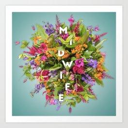 Midwife's Bouquet Art Print