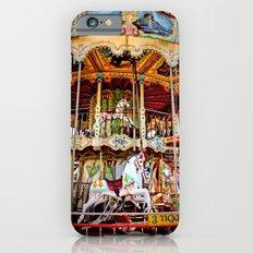 Double Decker Carnival Carousel Horse iPhone 6s Slim Case
