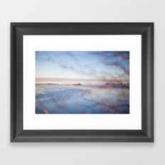 The Sea. Framed Art Print