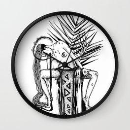 Africa-Mama Wall Clock