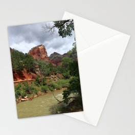 Along The Virgin River Stationery Cards