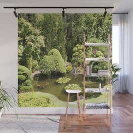 Japanese Tea Garden Pond Wall Mural
