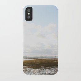 Low Tide at the Lighthouse iPhone Case