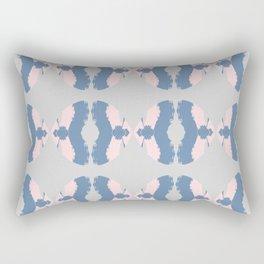 Ikat pastel pattern Rectangular Pillow