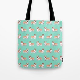 Pembroke Welsh Corgi dog Tote Bag