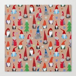Gnomes everywhere Canvas Print