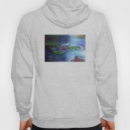 Dragonflies and water lilies Hoody