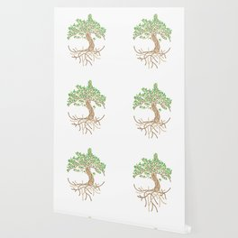 Rope Tree of Life. Rope Dojo 2017 white background Wallpaper